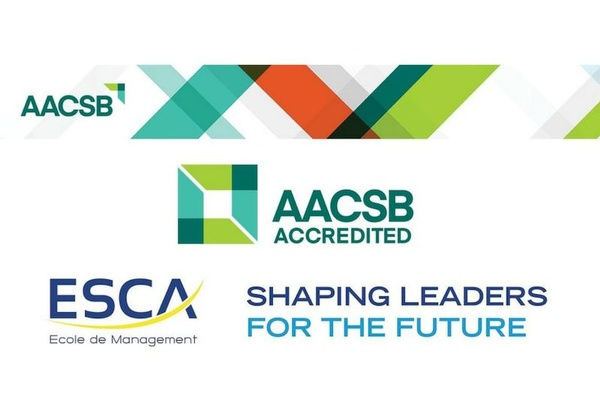 ESCA earns AACSB accreditation!